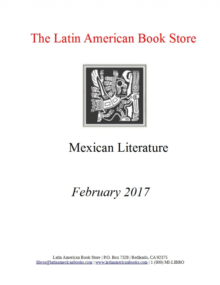 Mexican literature -- February 2017