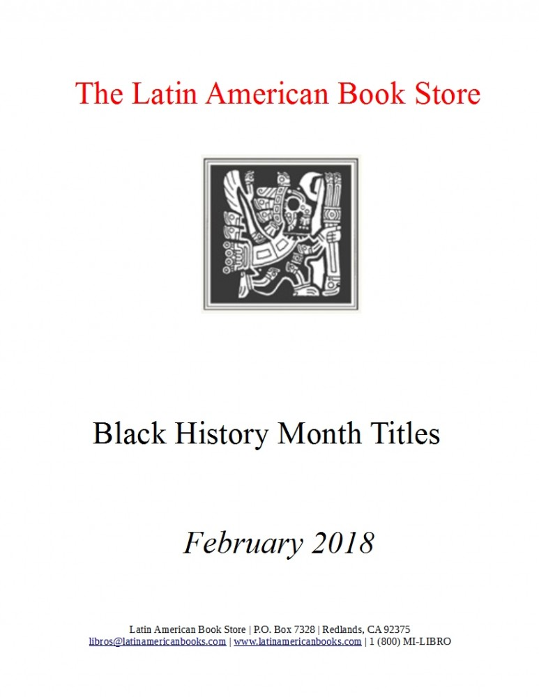 Black History Month Titles -- February 2018